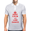 Keep Calm And Line Dance Mens Polo