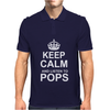 Keep Calm and Listen to Pops Mens Polo
