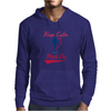 Keep Calm And Pitch On Mens Hoodie
