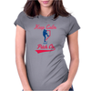 Keep Calm And Pitch On Womens Fitted T-Shirt