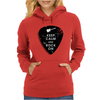 Keep calm and rock on Womens Hoodie