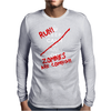 Keep Calm and Run Zombies Are Coming Mens Long Sleeve T-Shirt