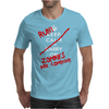Keep Calm and Run Zombies Are Coming Mens T-Shirt