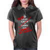 Keep Calm and Run Zombies Are Coming Womens Polo
