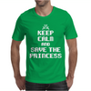 Keep Calm and Save The Princess Mens T-Shirt