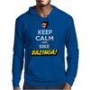 Keep Calm and Sike Bazinga! Mens Hoodie