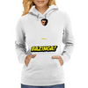 Keep Calm and Sike Bazinga! Womens Hoodie