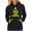Keep Calm I'll handle this traitor Womens Hoodie