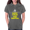Keep Calm I'll handle this traitor Womens Polo