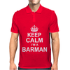 Keep Calm I'm a Barman Mens Polo