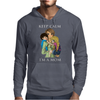 keep calm I'm a mom Mens Hoodie