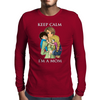 keep calm I'm a mom Mens Long Sleeve T-Shirt