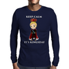 keep calm its kingsday Mens Long Sleeve T-Shirt