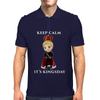 keep calm its kingsday Mens Polo