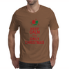 Keep Calm It's Only Christmas Mens T-Shirt