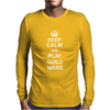 KEEP CALM PLAY GUILD WARS Mens Long Sleeve T-Shirt