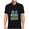 Keep Earth Clean It's Not Uranus Kawaii Planets Mens Polo
