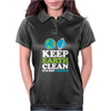 Keep Earth Clean It's Not Uranus Kawaii Planets Womens Polo
