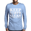 Keep Earth Clean It's Not Uranus Mens Long Sleeve T-Shirt