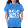 Keep Earth Clean It's Not Uranus Womens Polo