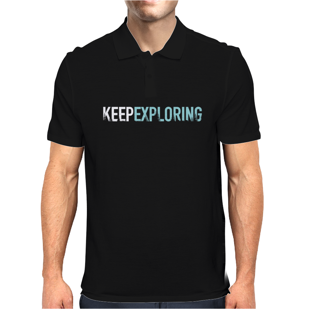 Keep Exploring Mens Polo