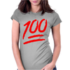 Keep It A Hunnid Hundred Womens Fitted T-Shirt