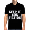 Keep It Nonfiction Mens Polo