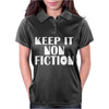 Keep It Nonfiction Womens Polo