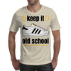 KEEP IT OLD SCHOOL RETRO HIP HIP BREAK DANCE B-BOY 1980's SUPERSTAR TRAINERS Mens T-Shirt