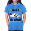 KEEP IT OLD SCHOOL RETRO HIP HIP BREAK DANCE B-BOY 1980's SUPERSTAR TRAINERS Womens Polo