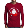 Keep It Real Fat Boy laughing Buddha Mens Long Sleeve T-Shirt