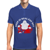 Keep It Real Fat Boy laughing Buddha Mens Polo