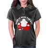 Keep It Real Fat Boy laughing Buddha Womens Polo