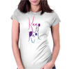 Keep it Real Womens Fitted T-Shirt