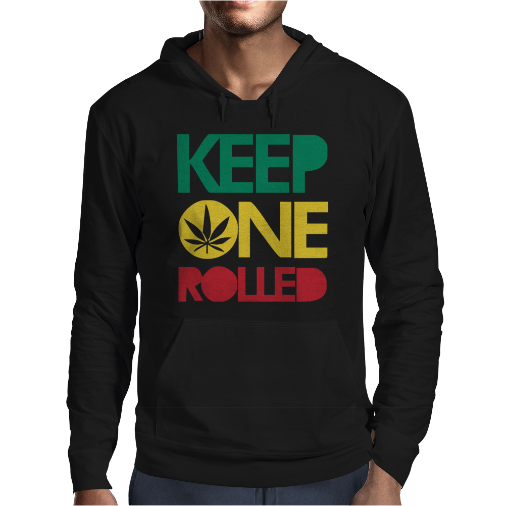Keep ONE Rolled Mens Hoodie