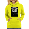 Keepers Of The Faith Womens Hoodie