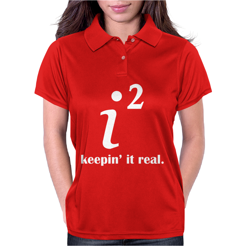 KEEPIN' IT REAL Womens Polo
