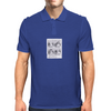 Keeping A Straight Face Mens Polo