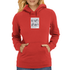 Keeping A Straight Face Womens Hoodie