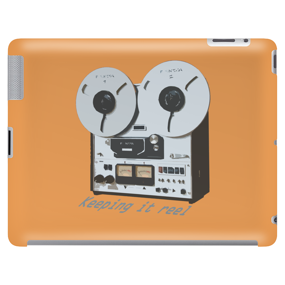 Keeping It Reel (to reel) Tablet (horizontal)