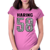 Keith Haring, Womens Fitted T-Shirt