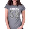 Keith Haring Womens Fitted T-Shirt