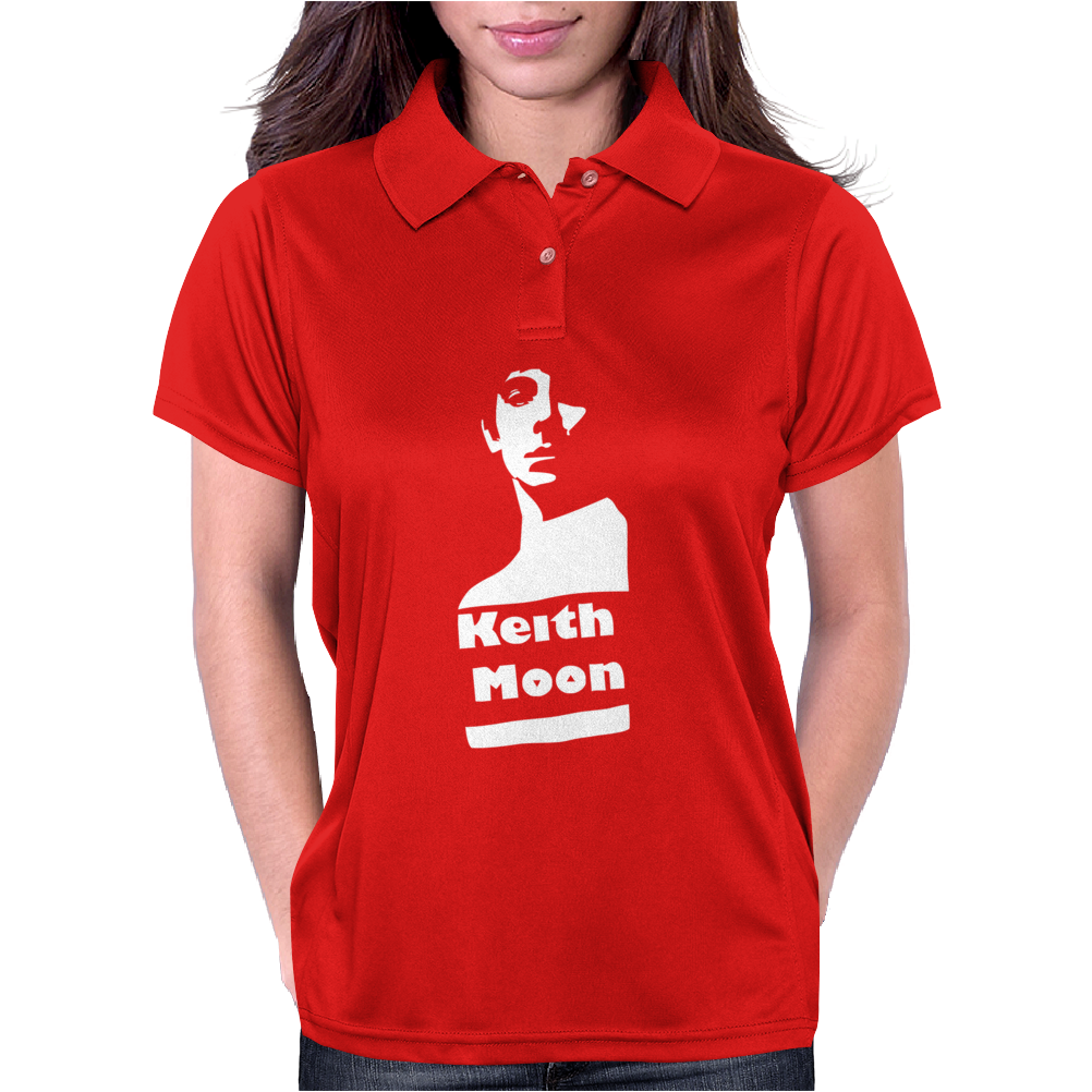 Keith Moon Womens Polo