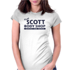 Keith Scott Body Shop Hoodie (Lucas Scott, OTH) Womens Fitted T-Shirt
