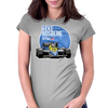 Keke Rosberg - 1985 Detroit Womens Fitted T-Shirt