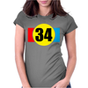Kevin Schwantz Womens Fitted T-Shirt