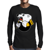 Khl Traktor Russian Hockey Mens Long Sleeve T-Shirt