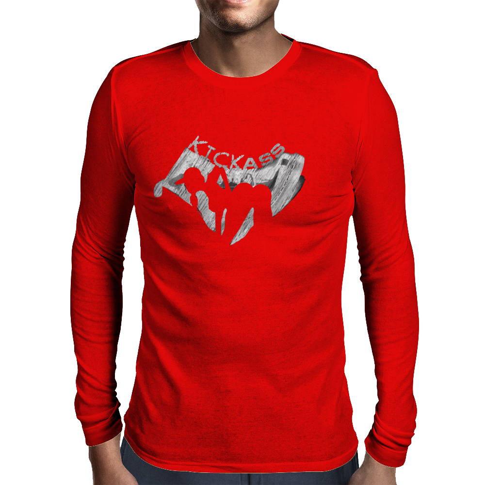 Kickass Mens Long Sleeve T-Shirt