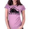 Kickin It Old School Womens Fitted T-Shirt
