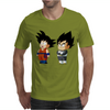 Kid Goku and Kid Vegeta Mens T-Shirt